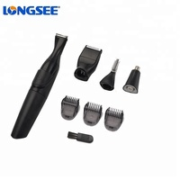 Waterproof Electric Nose&Ear Removal Men's Personal Grooming Kit Body Hair Trimmer Shaving
