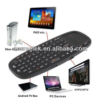 2013 Rii Mini Swedish Bluetooth Keyboard With Touchpd And Laser ...