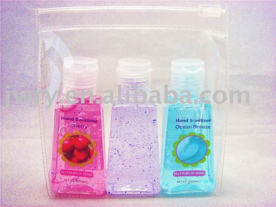$0.45-0.65$ 3PK HAND SANITIZER POUCH PACK-NEW UPDAGING IN Oct. 2010!!!