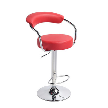 Excellent Vegan Leather Thick Soft Padded Adjustable Height Barstool For Kitchen And Bars View Bar Chair On Hot Selling Lianfeng Product Details From Anji Gamerscity Chair Design For Home Gamerscityorg