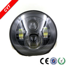 High quality Devil eyes 60W 12/V 6000K 4000LM Spuer White Auto/Car LED Headlights