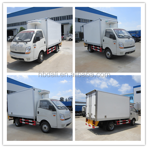 Forland JAC Changan ice cream truck mini refrigerated van for sale