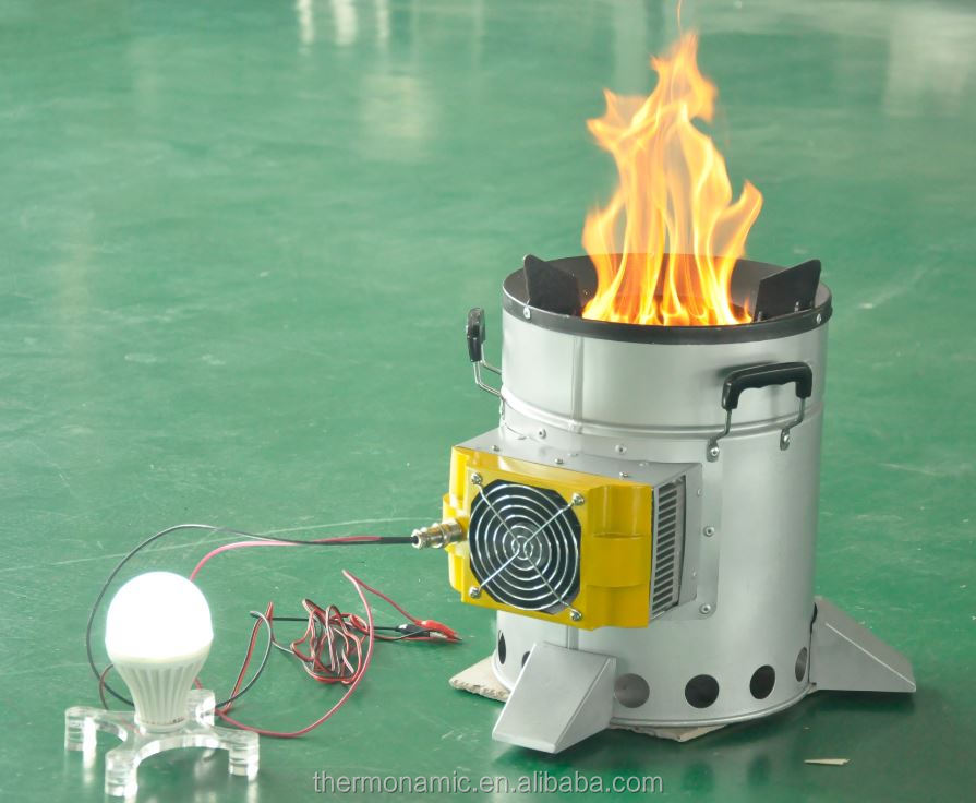 ... camping stove for cooking with a 10 watt thermoelectric generator ... - Thermoelectric Generator Wood Stove - Wood Flooring