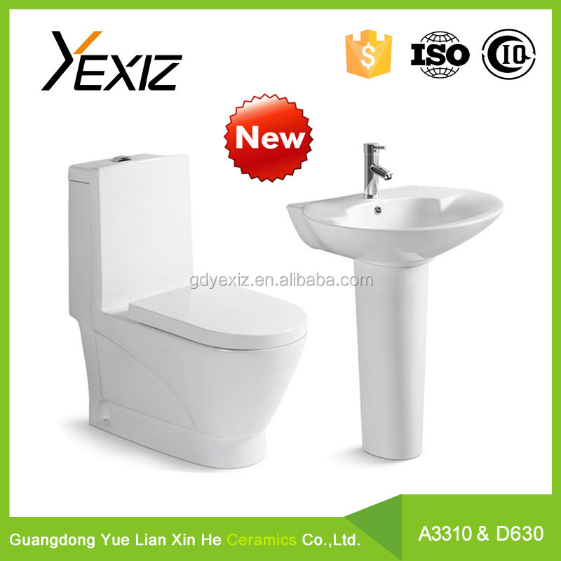 A3310& D622 sanitary ware manufacturer / bathroom set toilet and basin / water closet brands