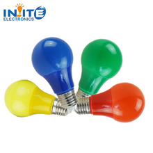 multicolor 7W E27 red green blue led bulb party light decorative