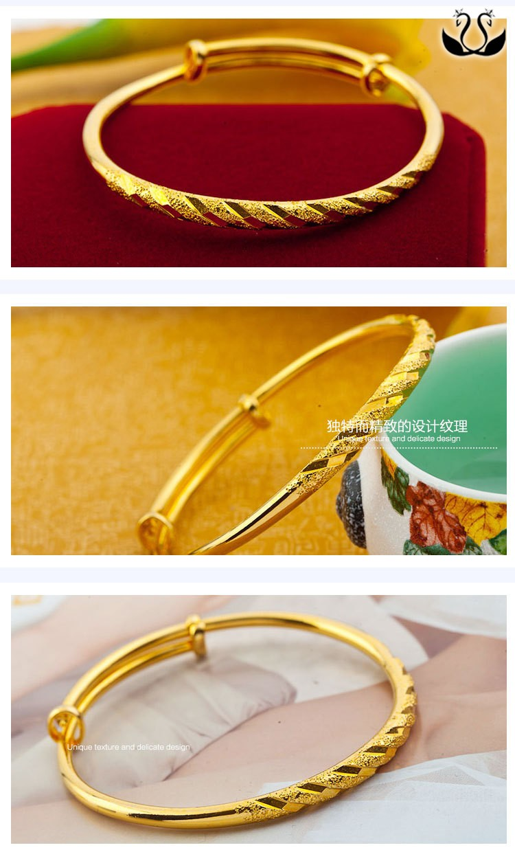 plated bracelet dubai bangles gold detail alibaba jewelry product women wholesale