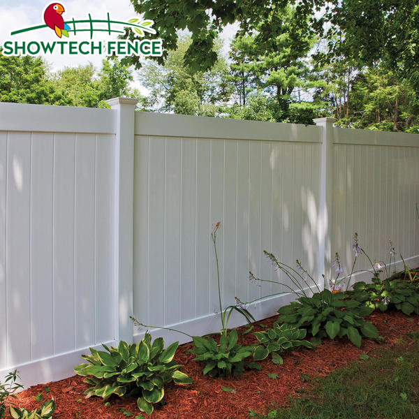 Decorative Fence White Cheap Pvc Plastic Privacy Screen Garden Fence