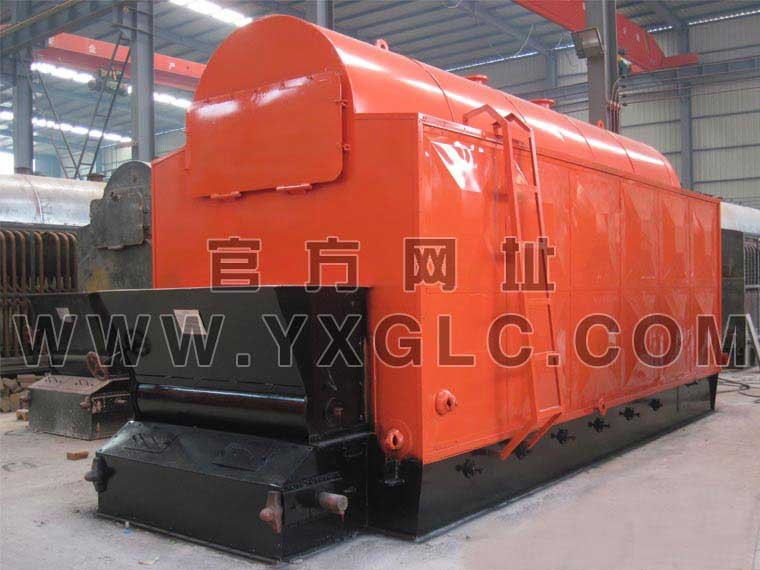 The first Boiler Quick steam generator horizontal style boiler biomass pellet fired steam boiler