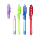 Factory Direct Creative ABS Imprint Plastic Invisible Ink Pen UV LED Light Pen