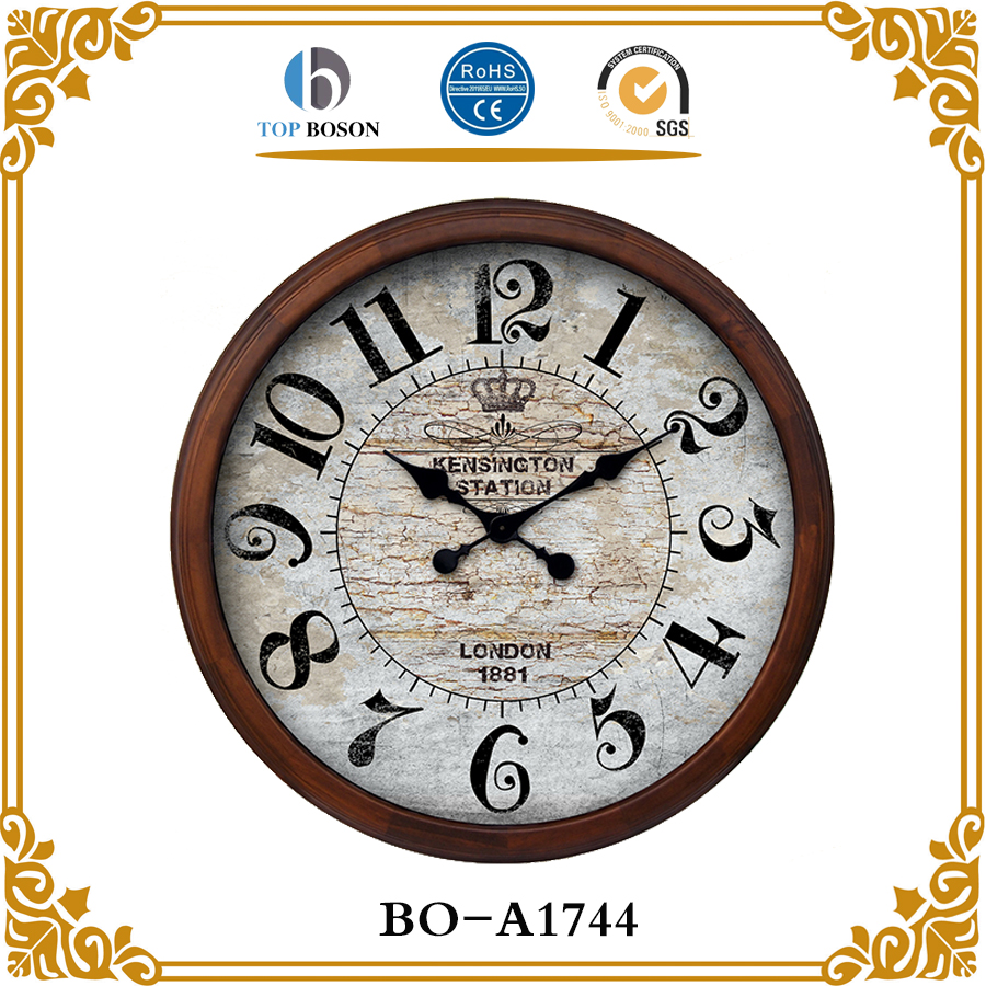 Wood Station Clock, Wood Station Clock Suppliers and Manufacturers ...