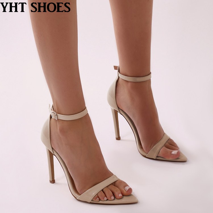 2018 Women Nude Sexy Pointed Open Toe