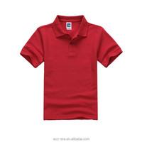 Cheap Wholesale Children Uniform Polo Shirt For Boys