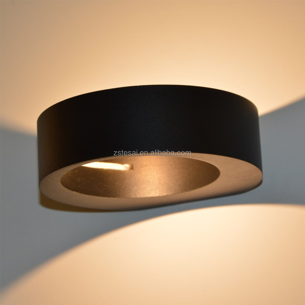 Distributor Modern Led Wall Lamp For Bedroom Cob 5w Black Color ...