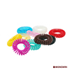 custom plastic elastic hair bands traceless hair ring for braids