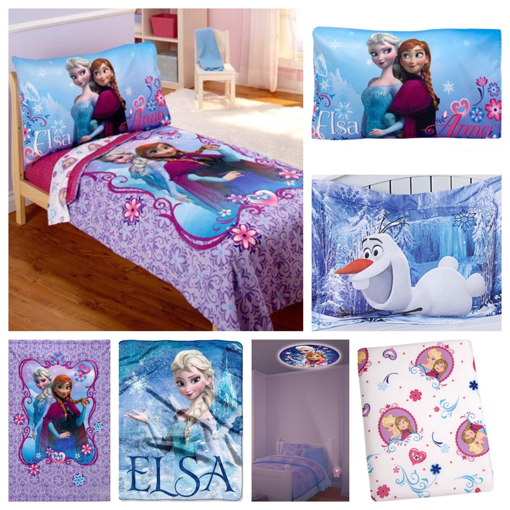 Disney Frozen Bedding Set & Night Light - Toddler