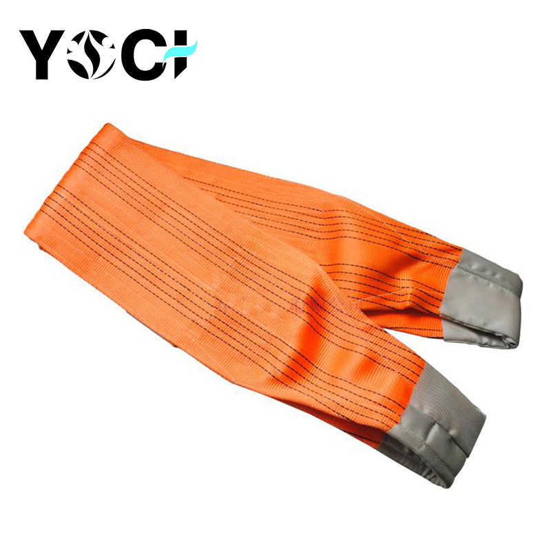 Yoci Custom-made Weight Print Your Logo Polyester Webbing Sling/lifting Sling Or Belts With Crane Belt