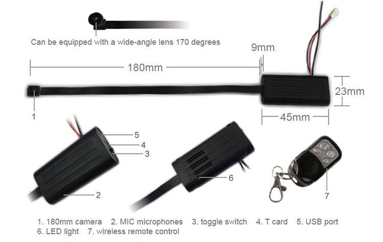 Mini Camera Full HD Verborgen Kleine Geavanceerde Draagbare Beveiliging Knop Spy Cam