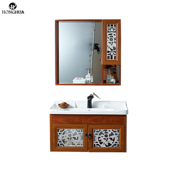 French Bathroom Cabinet Sink Basin Cabinet Bathroom Vanity Wholesale Bathroom Cabinet With Mirror View Bathroom Cabinet Sink HONGHUA Product Details