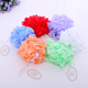 Bath Sponge Shower Nylon Mesh bath flower scrubber Ball Scrubber Exfoliate Body Massage Scrub,mesh bath sponge