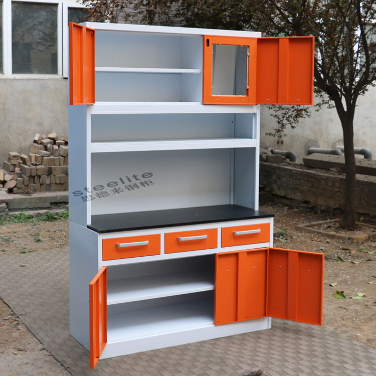 Kitchen furniture mini kitchenette steel kitchen cabinet for Kitchenette furniture