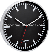 12 Inch Large High Quality Metal Wall Clock Timepieces Wall Mounted Clock