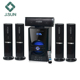 5.1 subwoofer surround sound system home theater system with wireless remote control and USB,SD,MMC function