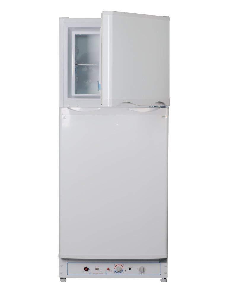 Smad 2-way Top Freezer Refrigerator with Reversible Door - 6.1 Cu Ft - Noiseless, White