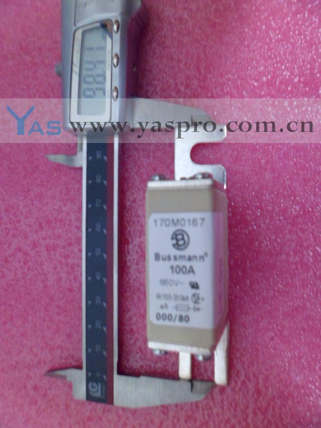 (New Products) Bussmann Fuse 660V 100A 170M0167
