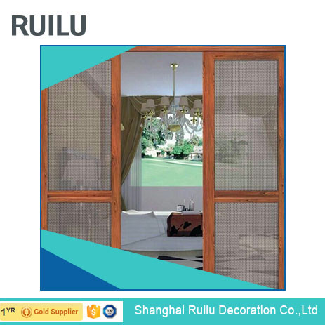 aluminum profile front door energy conservation easy sliding thermal break door with coated glass for house