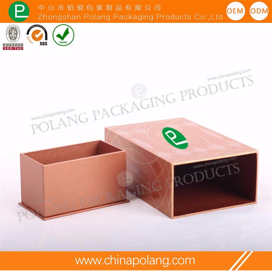 New design Factory Free Sample cosmetic wholesale Custom design cosmetic folding gift paper perfume packaging box