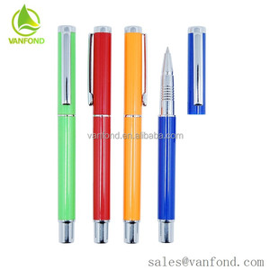 Personal Cap off Advertising Plastic Gel Brand Logo Promotional Ball point Pens