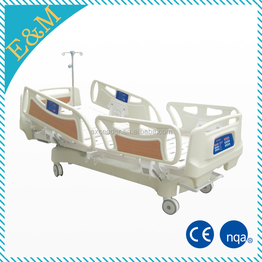 Clinic using hospital adjustable hospital bed of electric beds for disabled people