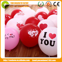 12'' I LOVE YOU mylar Balloons Valentine Festival Wedding Decoration Balloon