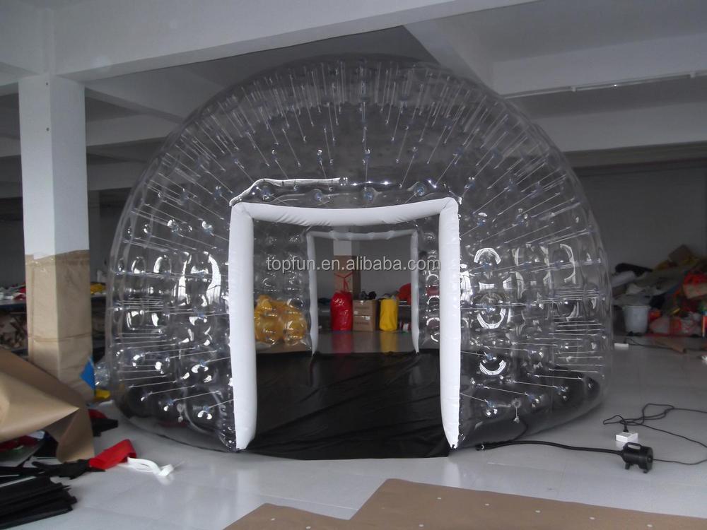aufblasbare zelt klar transparent pvc zelt aufblasbare pvc klare kuppel buy product on. Black Bedroom Furniture Sets. Home Design Ideas