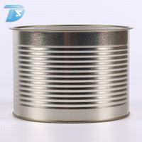 Food storage can 1.88 kg seal easy open custom print condensed milk food grade tin can with lid