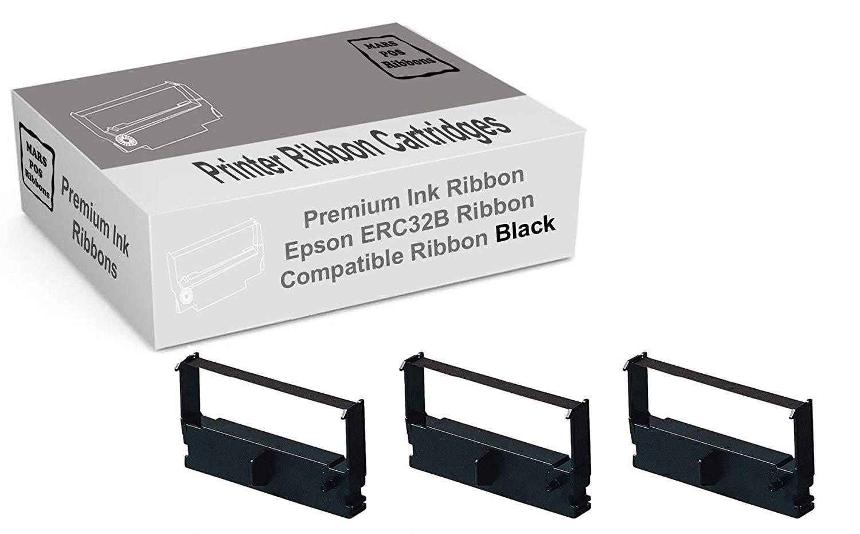 JS-5000 M820 TM-U150 TM-935 12 PACK Purple Printer Ribbon for EPSON ERC-32P