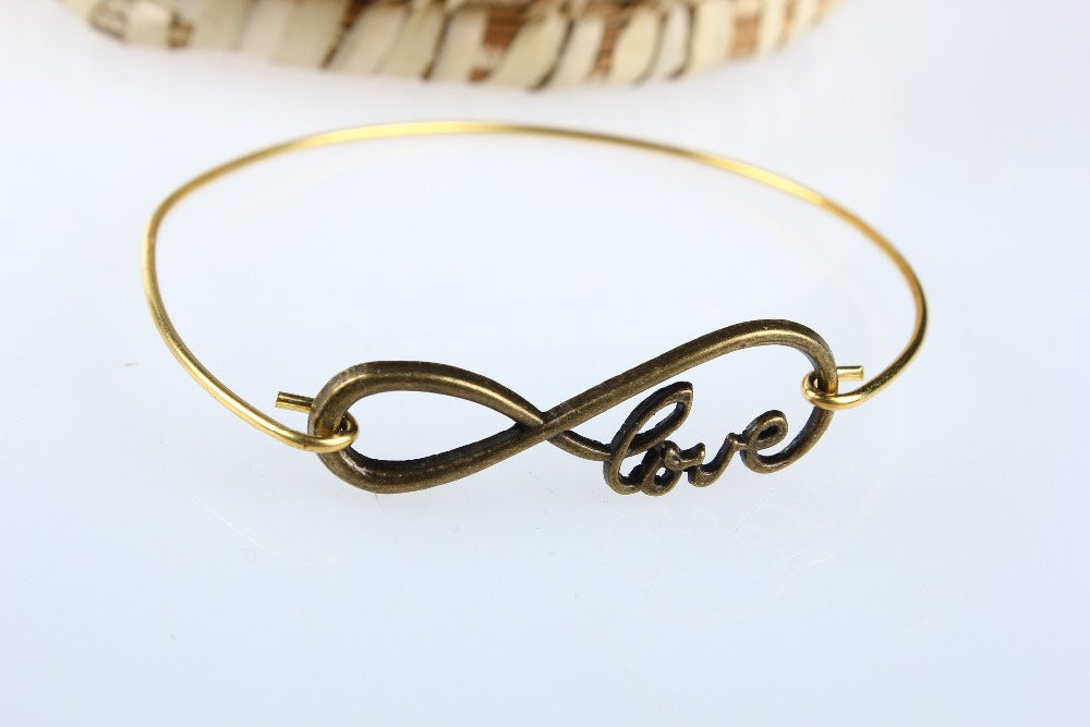 Buy 5pcslot Infinity Love Love Infinity Necklace Infinity