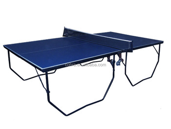 Removability Adults Table Tennis Table,portable Folding Ping Pong Table  With 20*30mm Frame