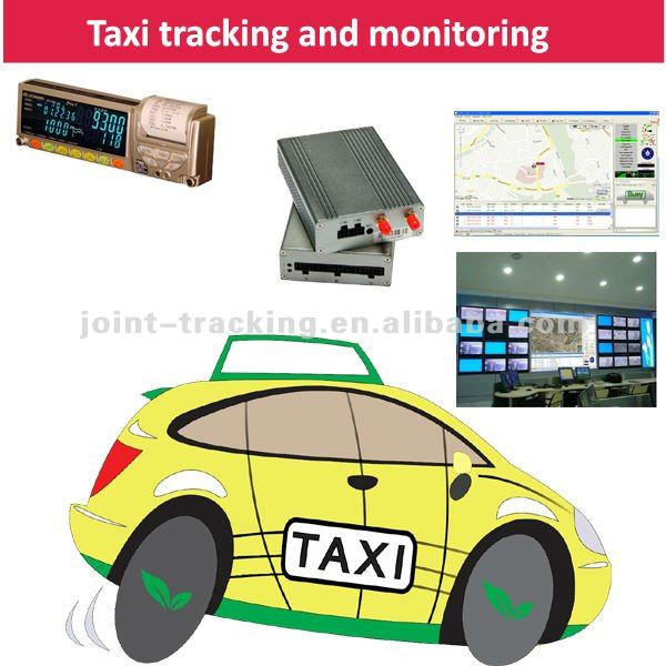 Gps Tracking System Supporting Taxi Meter With Working Status,Fare ...