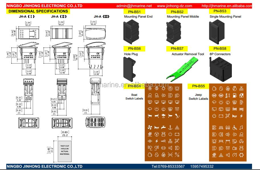 arb style rocker switch wiring diagram: carling arb style rocker switch  with blue led lights