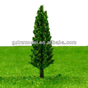 Plastic Miniature Pine Scale Model Trees For Train Railway Model Layout  Decoration 5cm-11cm - Buy Architectural Model Tree,Model Tree,Scale Model