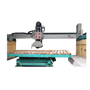 Automatic bridge type infrared marble granite stone bridge cutting machine for sale