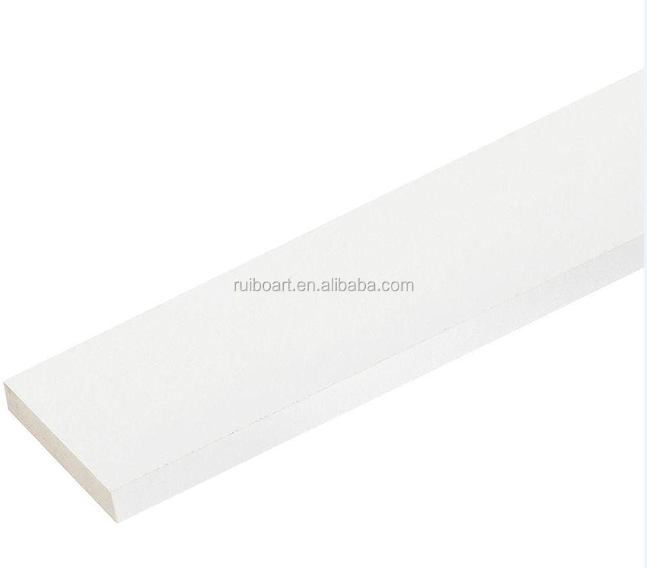 Primed FJ wooden skirting board