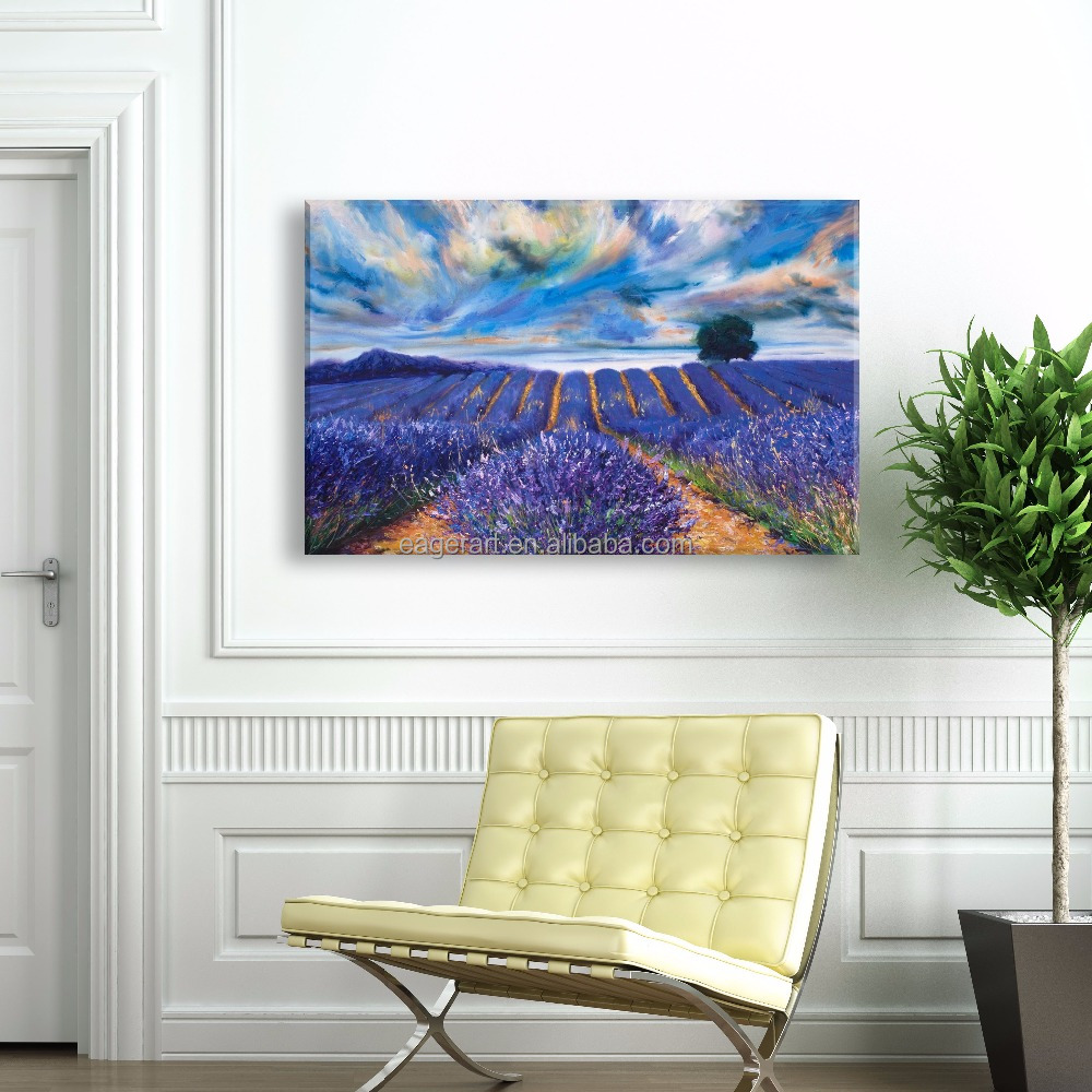 Provence Framed Prints Wall <strong>Art</strong> On Canvas Home Goods Painting