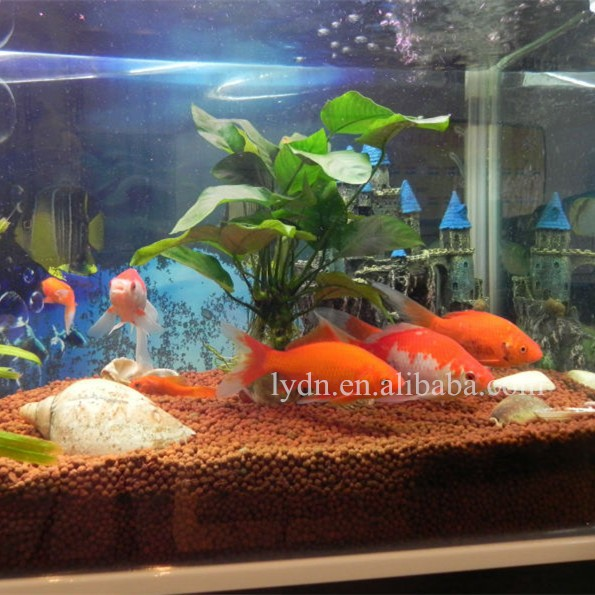 Clay Pebbles Aquarium Fish Tank Plant Soil