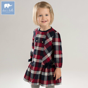 8f4756761024 Girls Plaid Dress