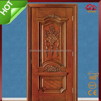 Bedroom entry main teak wood door design buy teak wood for Teak wood doors designs