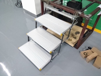 Es F T Triple Folding Electric Vechicle Step With Ce