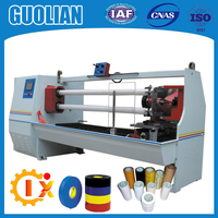 GL-702 Double Shafts Double Knives Automatic Tape Cutting Machine Masking Tape Cutting Machine