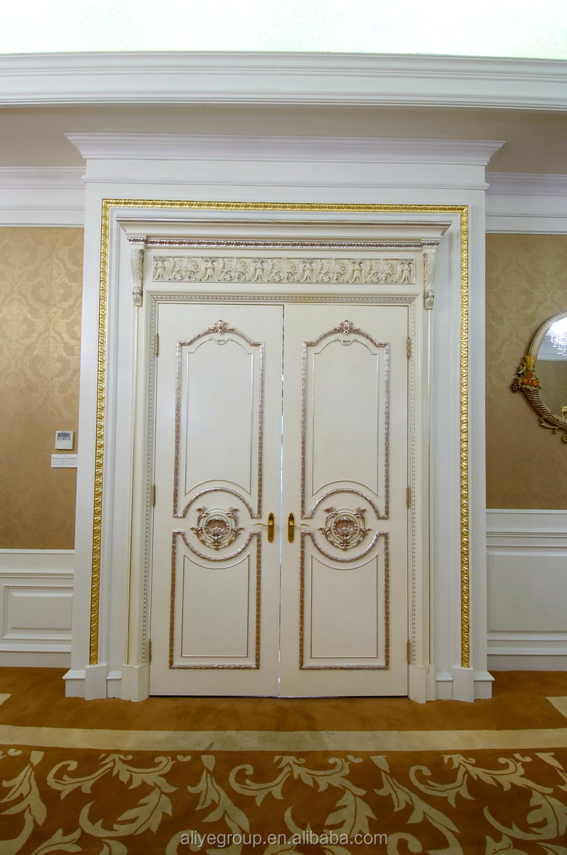 Foshan Teakholz Tür-design Und Holz Türrahmen Set - Buy Product on ...